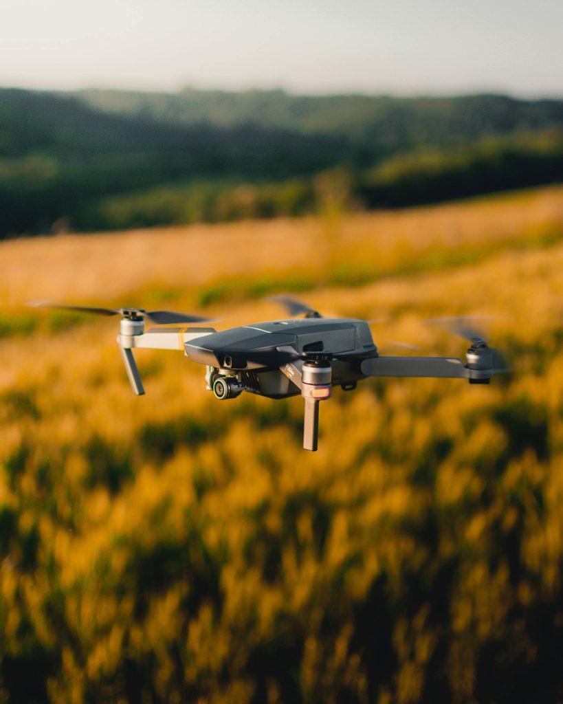 vidéo vue du ciel avec drone : agence web master